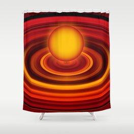 Energy ball 177 Shower Curtain