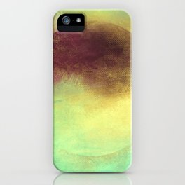 Circle Composition III iPhone Case
