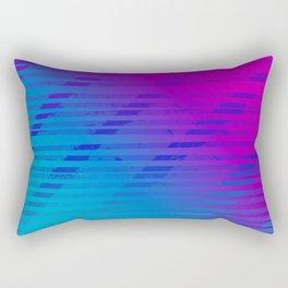 Outrun Inspired Gradient Rectangular Pillow