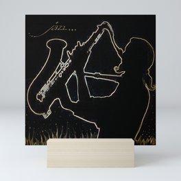 Jazz Mini Art Print