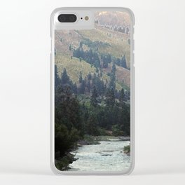 uphill Clear iPhone Case