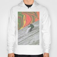 rasta Hoodies featuring Rasta Corner by Cale potts Art