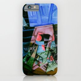 "Juan Gris ""Still Life before an Open Window, Place Ravignan"" iPhone Case"