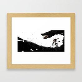 Feeling Spirits Framed Art Print