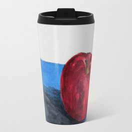 Single red Travel Mug