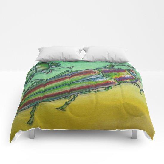 Shinny Beetle Comforters