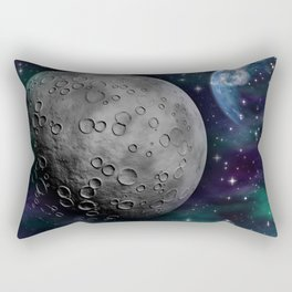 Moon and the Sky Rectangular Pillow