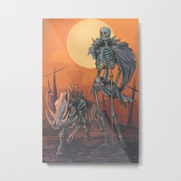 Freyja and Hildisvíni Metal Print