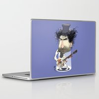 bob dylan Laptop & iPad Skins featuring Bob Dylan by Studio Drawgood