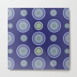 AFE Mandala Pattern Metal Print