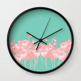 Flamboyance | Landscape Wall Clock