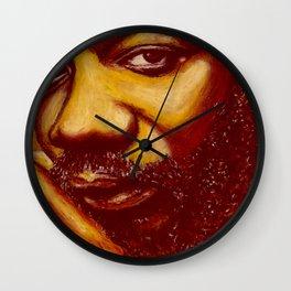 unique issac Wall Clock
