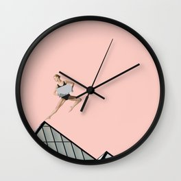 pink arch Wall Clock