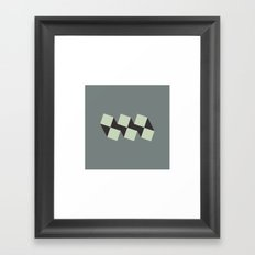 #121 Fratres – Geometry Daily Framed Art Print