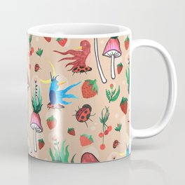 strawberry thieves Coffee Mug