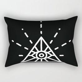Minimal All Seeing Eye Rectangular Pillow