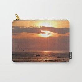 Sunset Seascape with Ship Carry-All Pouch