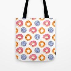 sweet things: doughnuts Tote Bag