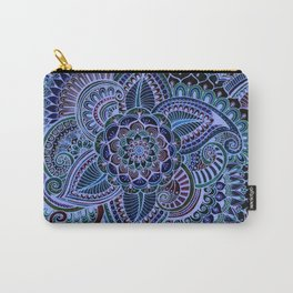Really Blue Henna Style Carry-All Pouch
