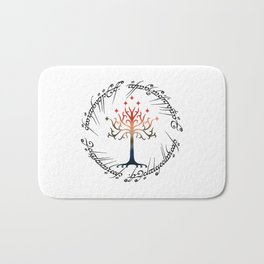 Tree The Ring Space Bath Mat