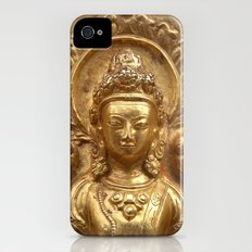 Gilded Buddha Image Swayambhu Slim Case iPhone (4, 4s)