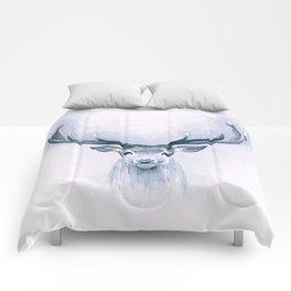 Watercolor Deer Comforters