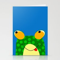 frog Stationery Cards featuring Frog by Jessica Slater Design & Illustration