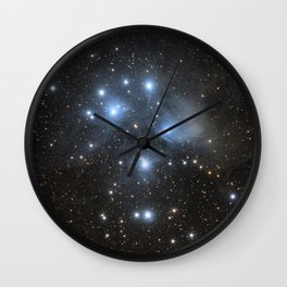 The Pleiades or The Seven Sisters Wall Clock