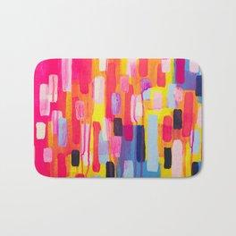 Neon Cities Bath Mat