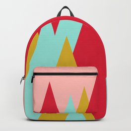 Whimsical Christmas // Trees Backpack