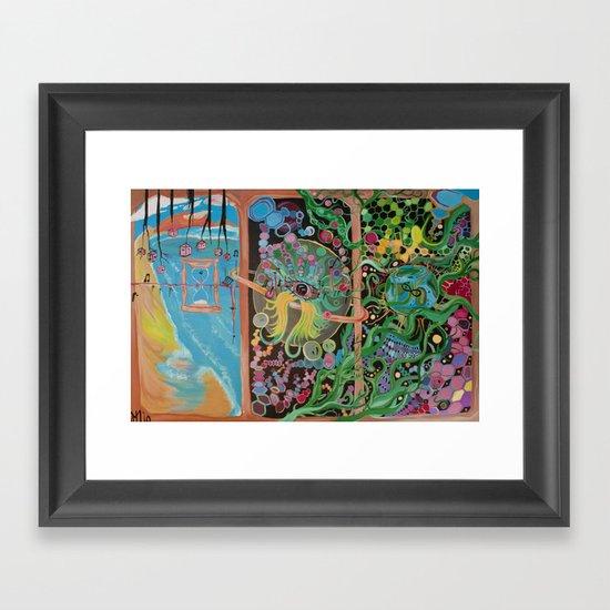 """""""Gulf Oil Spill of 2010"""" Framed Art Print"""