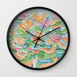 Nymphaea Aurora Wall Clock