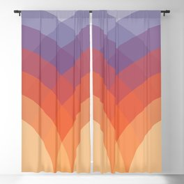 Colorful arches Blackout Curtain