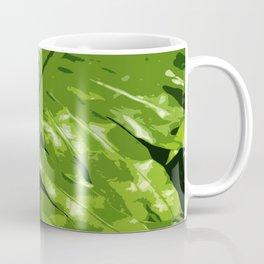 Decorative Fern Coffee Mug
