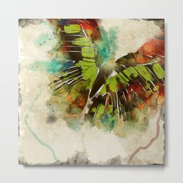 Butterfly Flight Metal Print