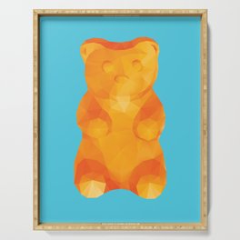 Gummy Bear Polygon Art Serving Tray