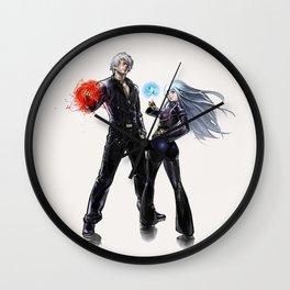 King of Fighters K & Kula Wall Clock