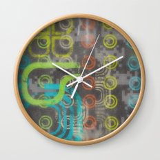 Op Ning A Nu Rave Keyboardist Wall Clock