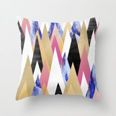 Magic Peaks Throw Pillow