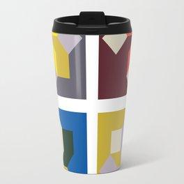 Modern Blocks Travel Mug