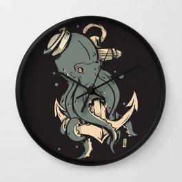 Dark Seas Wall Clock