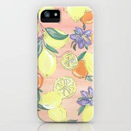 Love of Lemons. iPhone Case