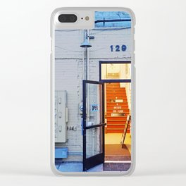 Artist Building Clear iPhone Case