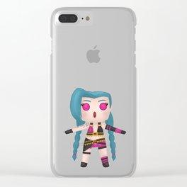 Jinxy Charm Clear iPhone Case