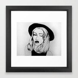Week Framed Art Print