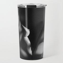 Black & White Nude Profile Travel Mug