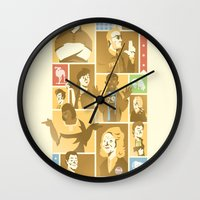 parks and recreation Wall Clocks featuring Parks & Rec by Florey