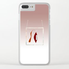 WHITNEY MUSEUM EXHIBITION Clear iPhone Case