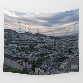 San Francisco - Sutro Tower Chill Wall Tapestry