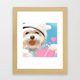 Your Smile Framed Art Print